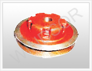 pulley_double harvester parts exporter from india