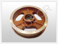 combine parts-pulley for flat belt manufacturer from india